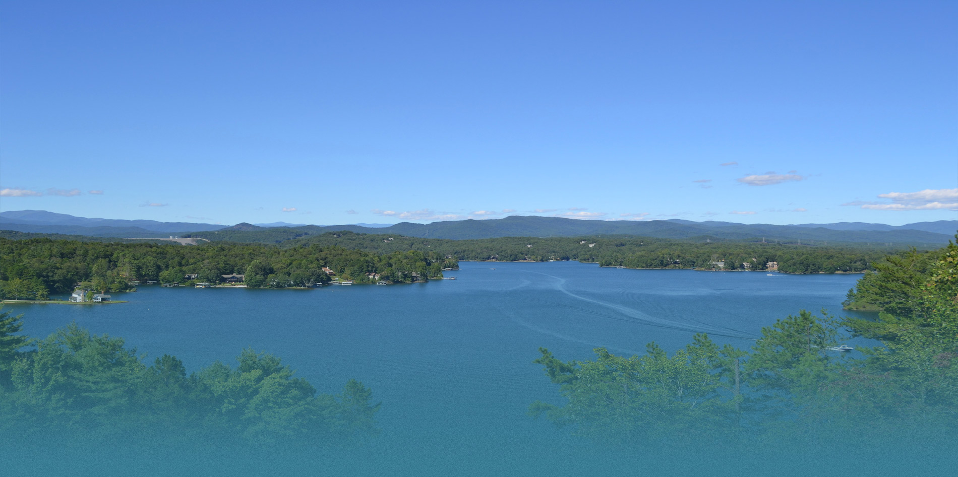Lake Keowee Aerial