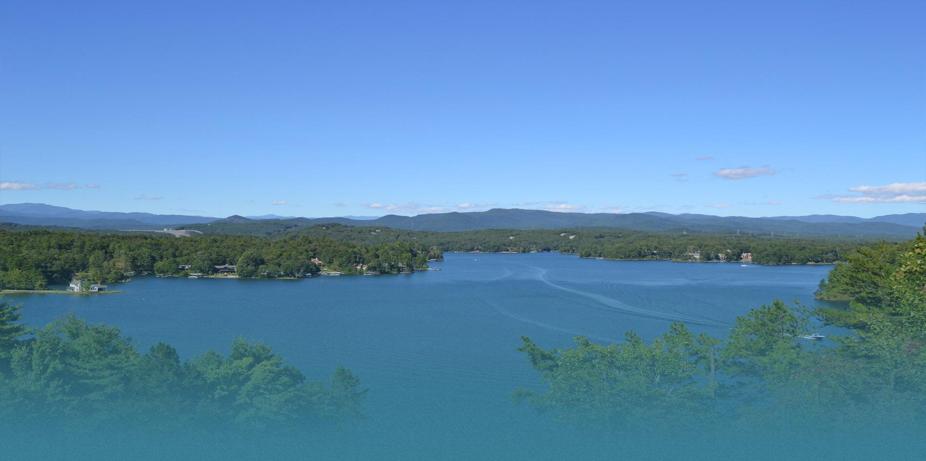 Lake Keowee Aerial